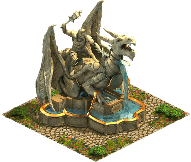 Elvenar Monster Fountain