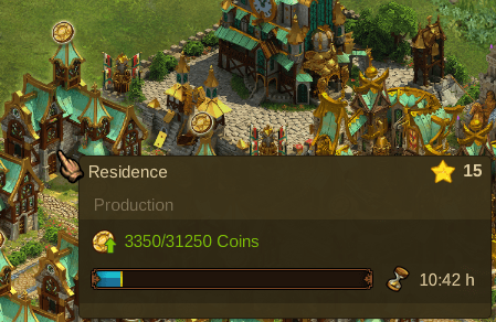 Elvenar Culture Bonus on Residence