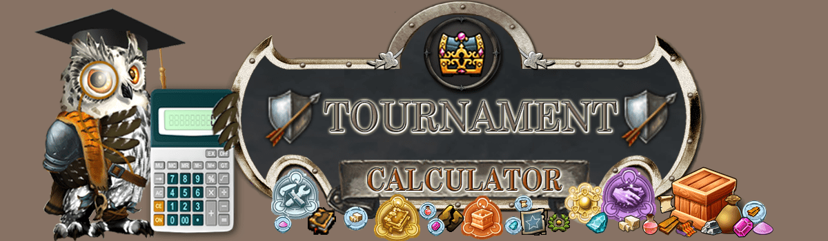 Elvenar Tournament Calculator